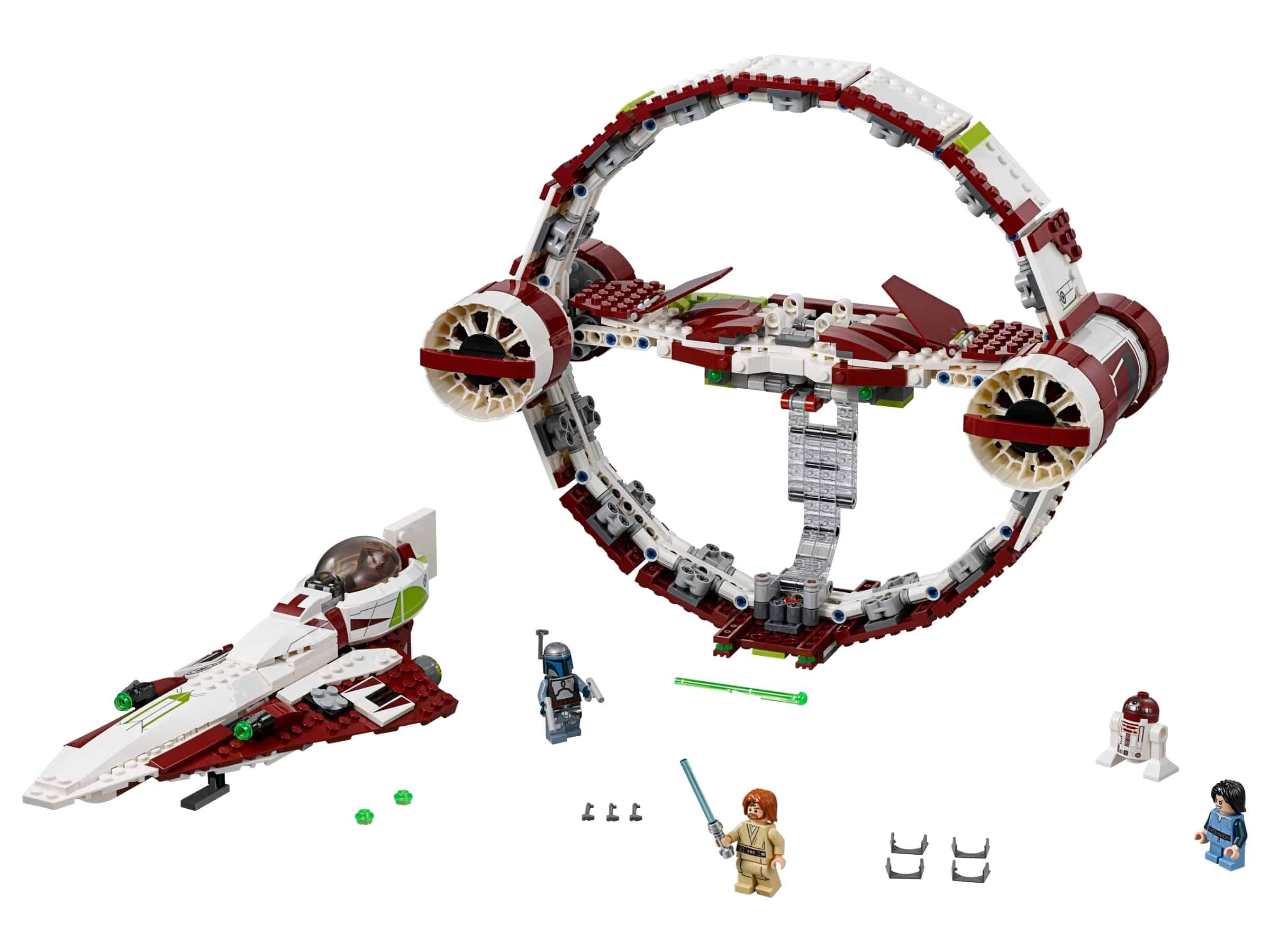 lego jedi starfighter met hyperdrive 75191