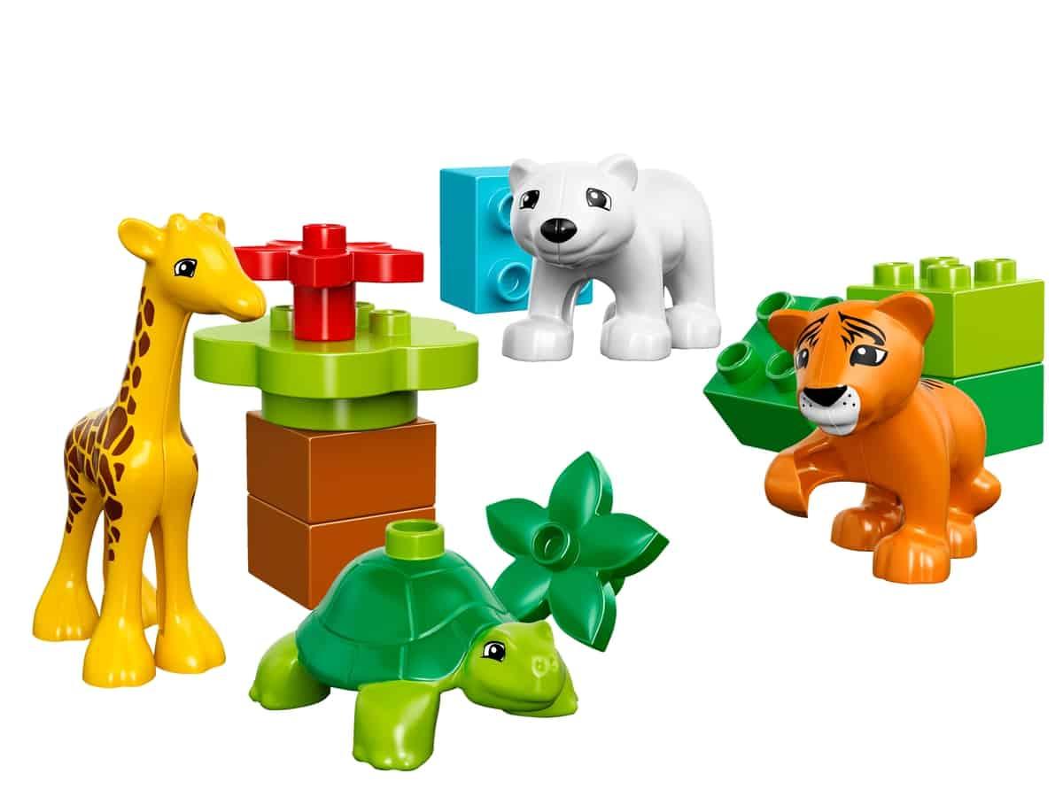 lego jonge dieren 10801