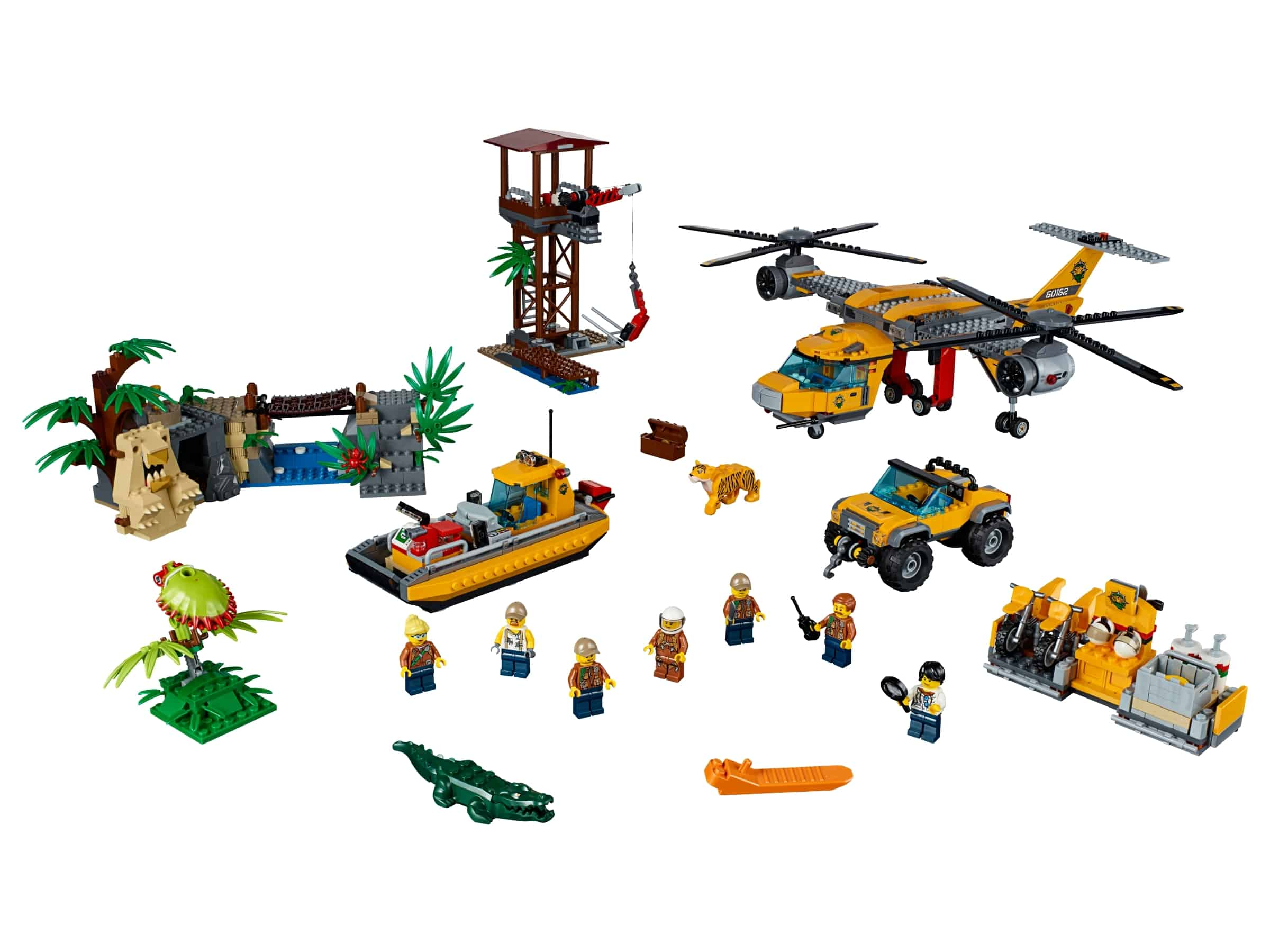 lego jungle helikopterdropping 60162