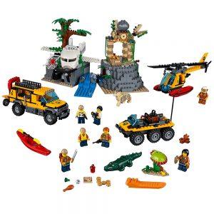 lego jungle onderzoekslocatie 60161