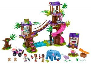 LEGO Jungle reddingsbasis 41424