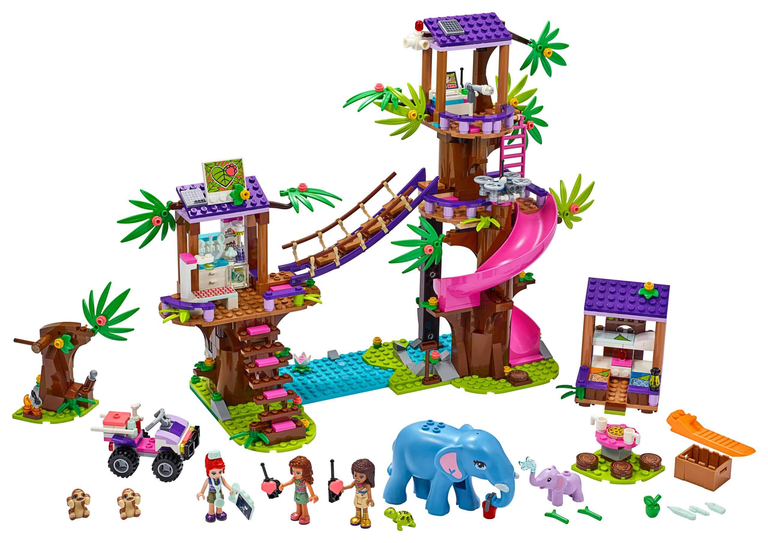 LEGO Jungle reddingsbasis 41424