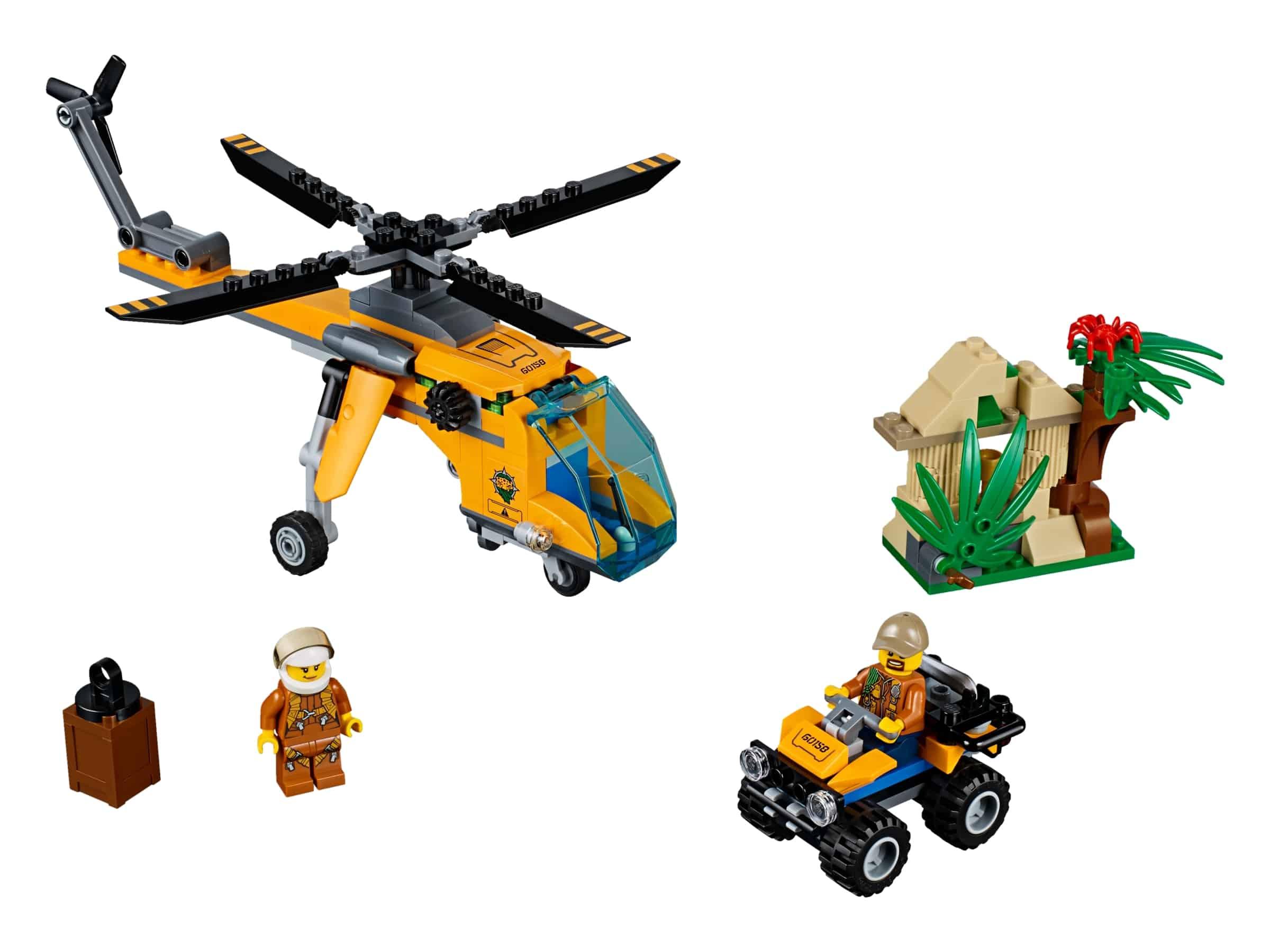 lego jungle vrachthelikopter 60158