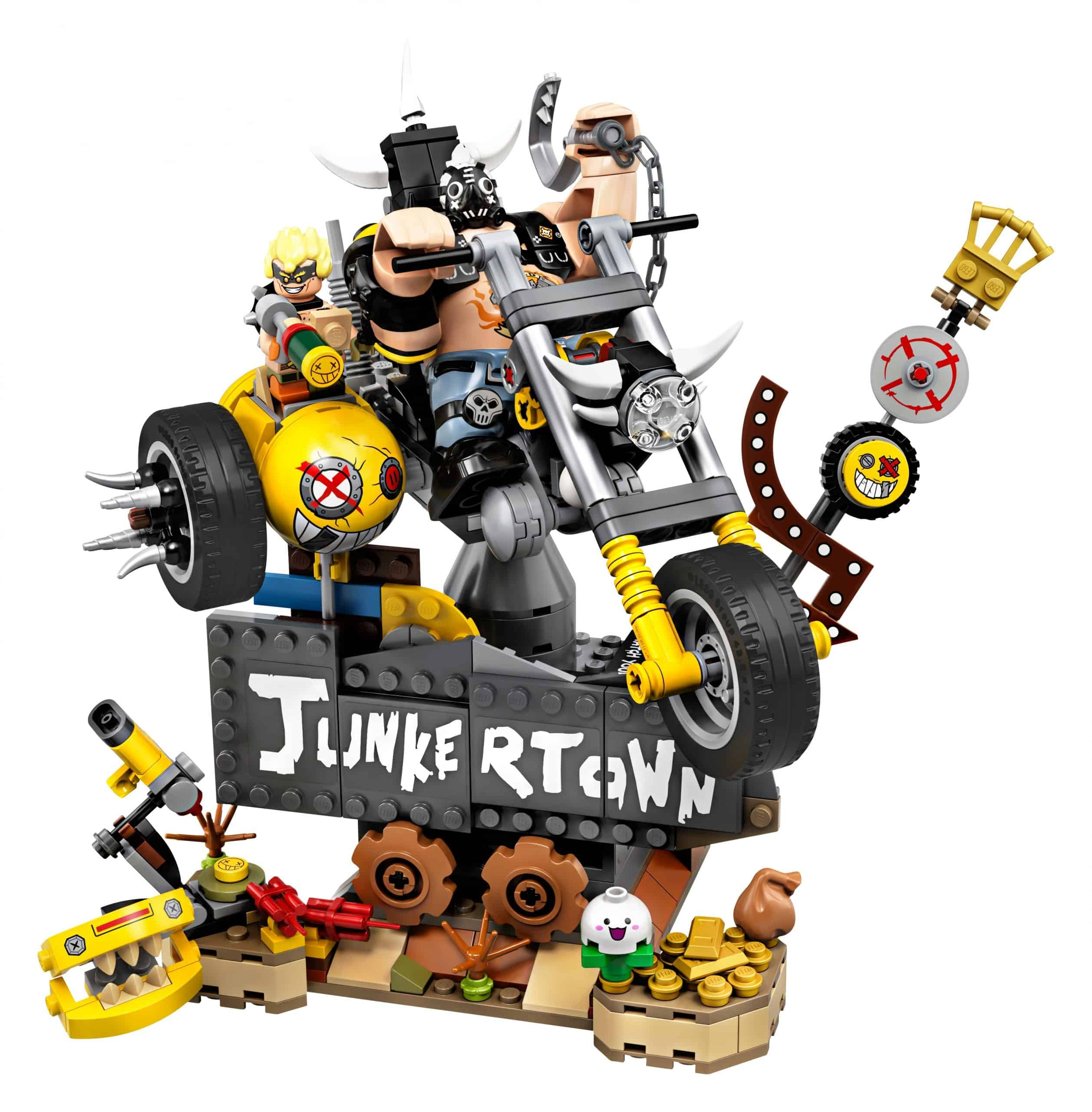 lego junkrat roadhog 75977 scaled
