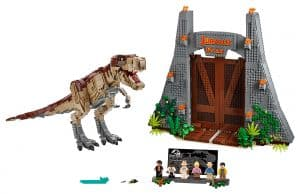 lego jurassic park t rex chaos 75936