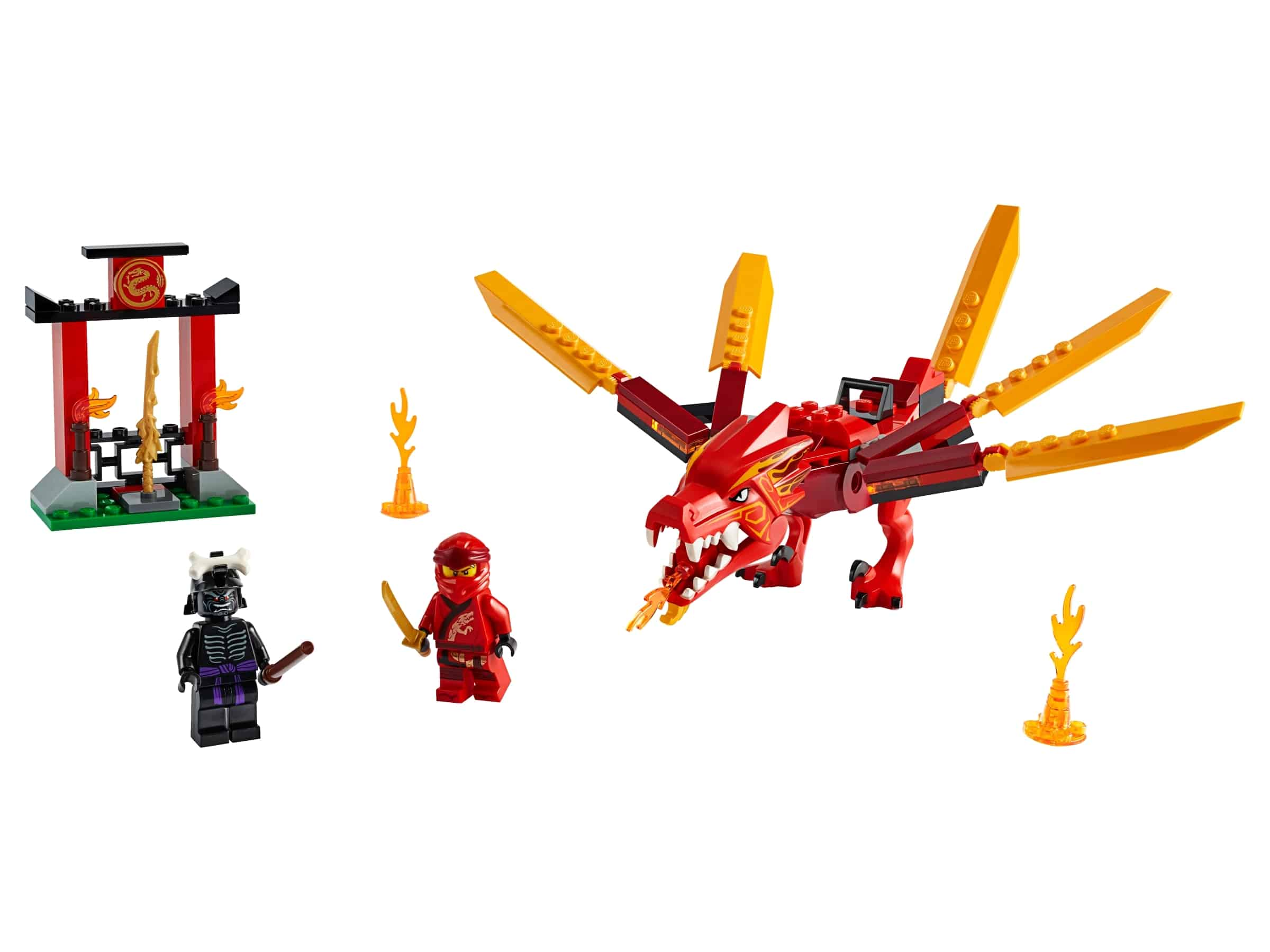 lego kais vuurdraak 71701