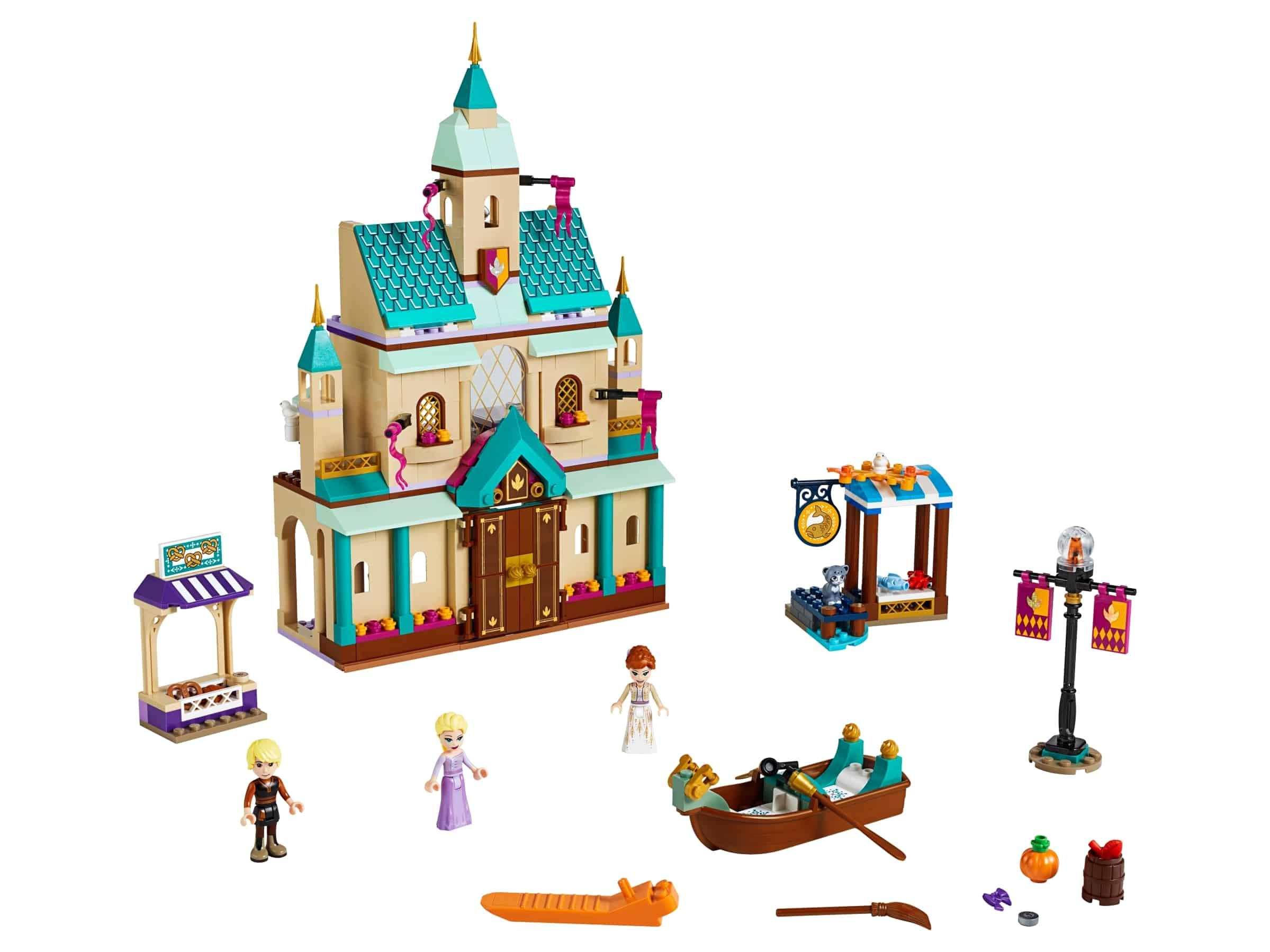lego kasteeldorp arendelle 41167