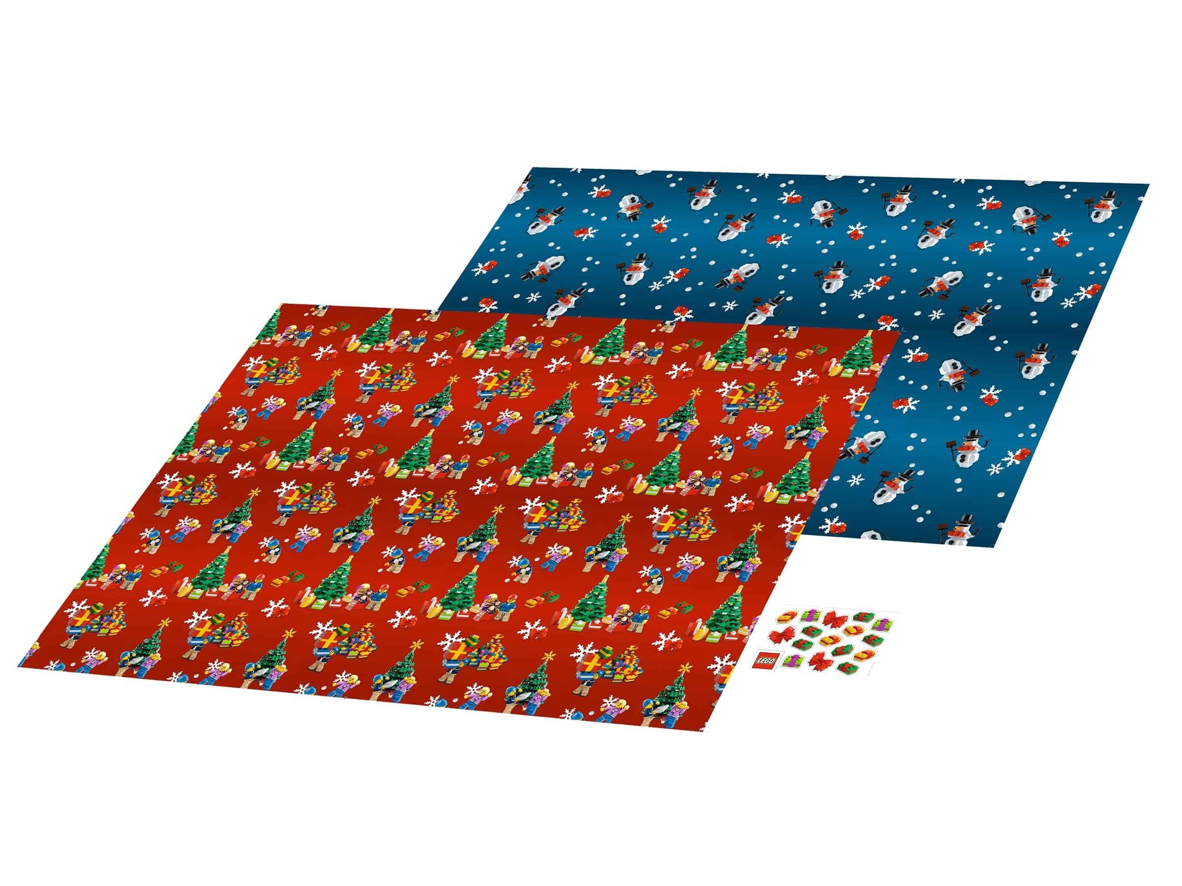 lego kerstcadeaupapier 851407