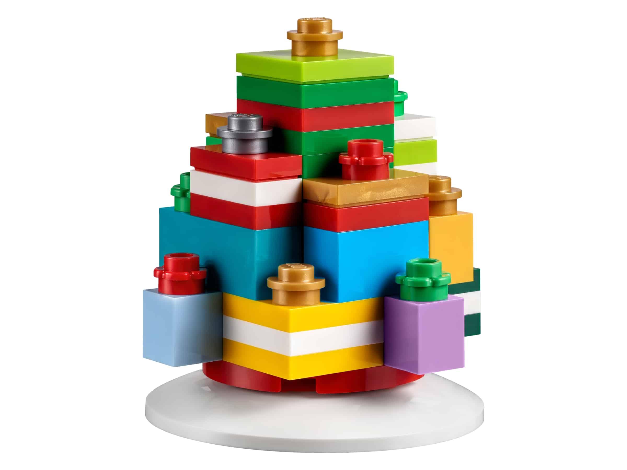 lego kerstversiering met cadeautjes 853815