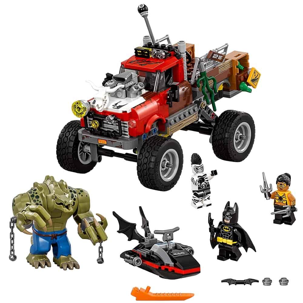 lego killer croc monstertruck 70907