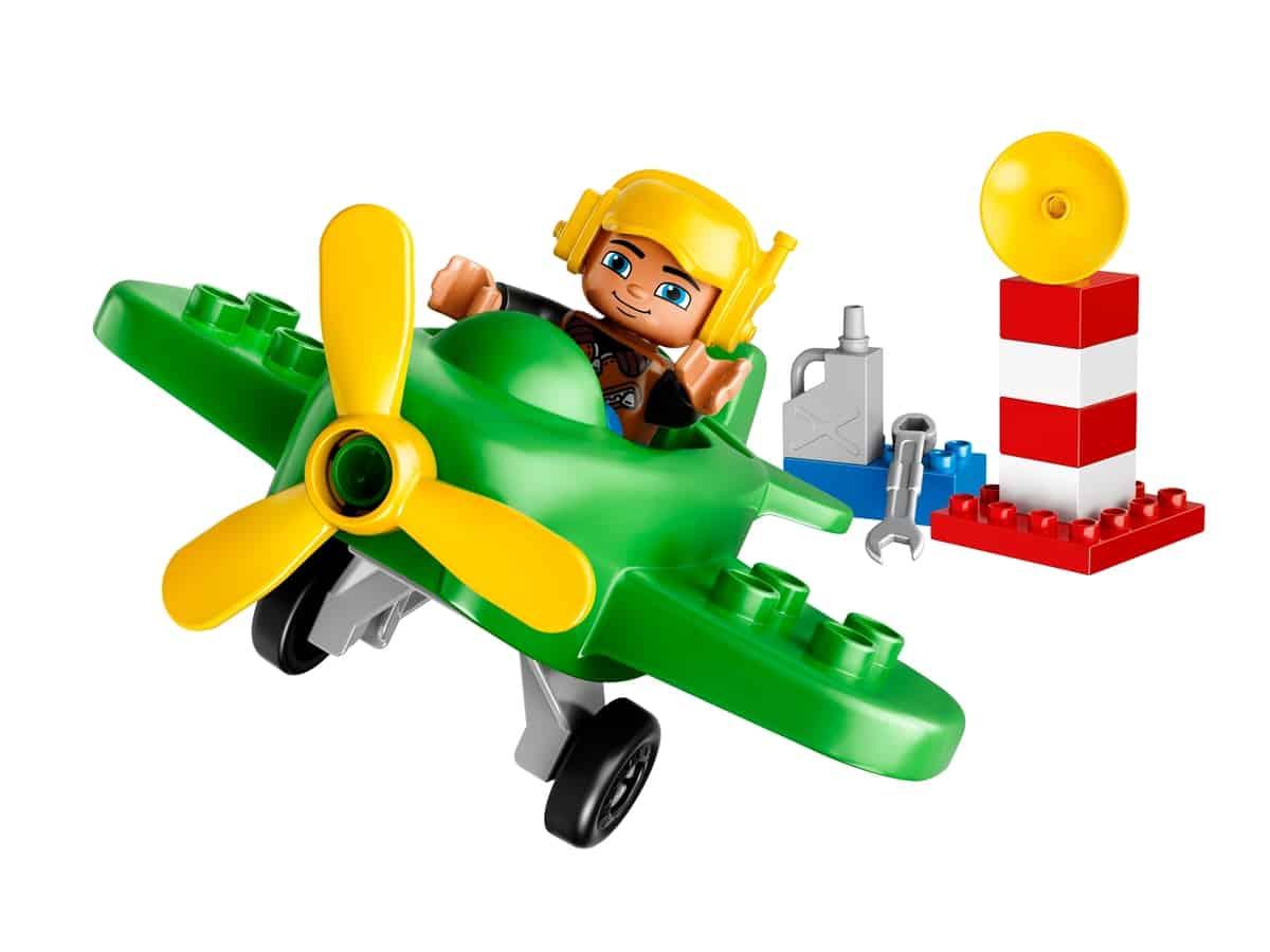 lego klein vliegtuig 10808