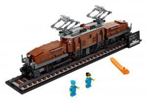 lego krokodil locomotief 10277