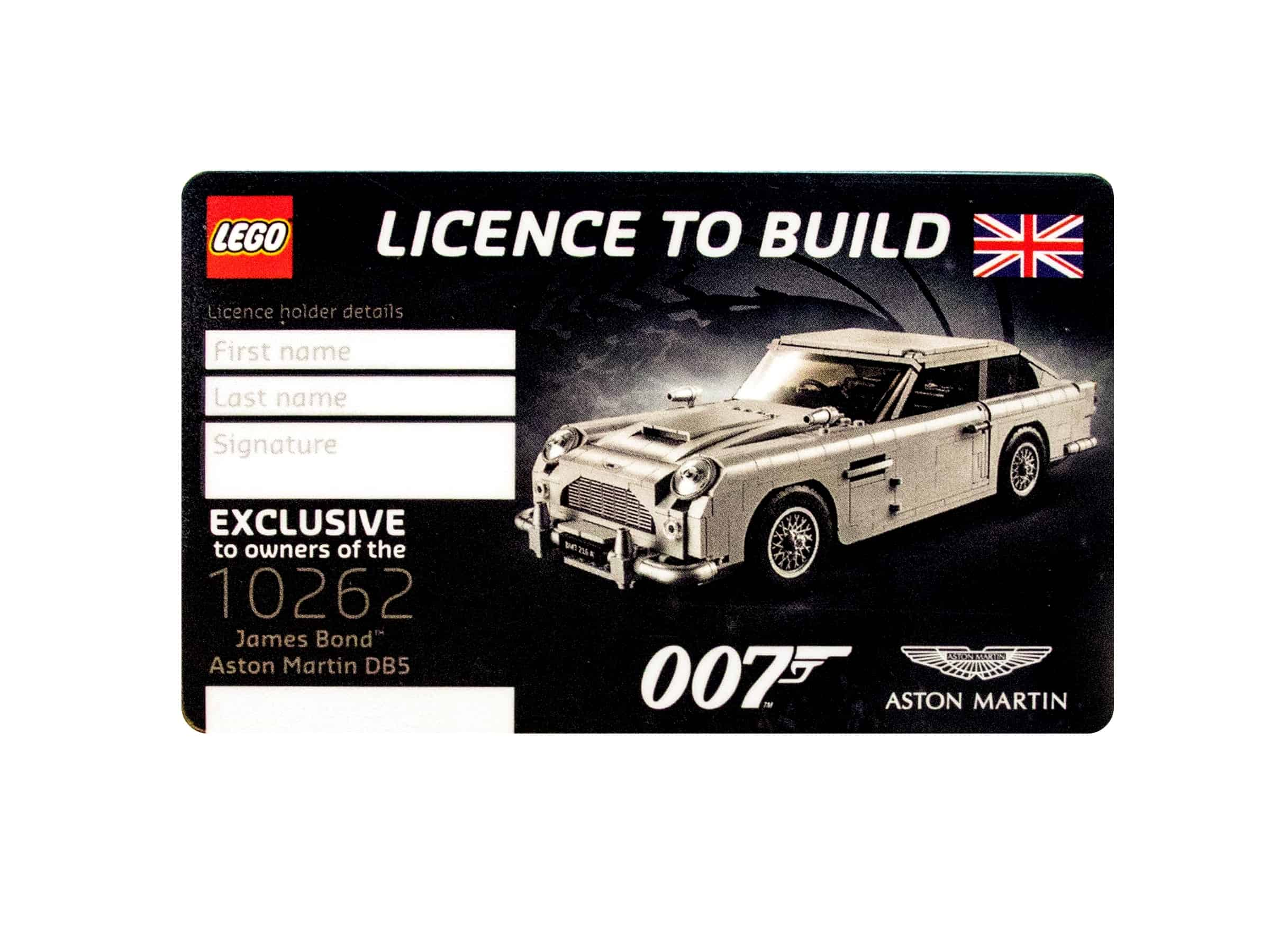 lego license to build 5005665