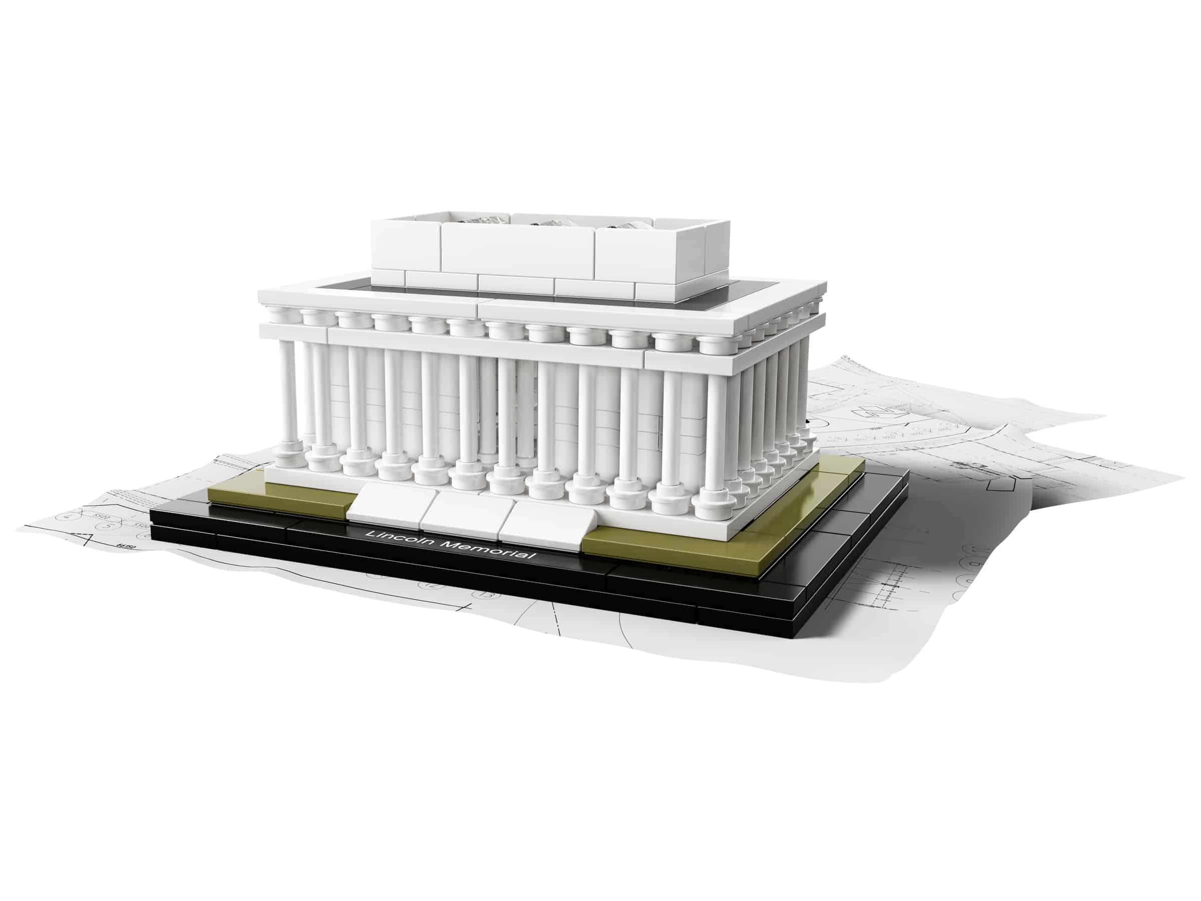 lego lincoln memorial 21022