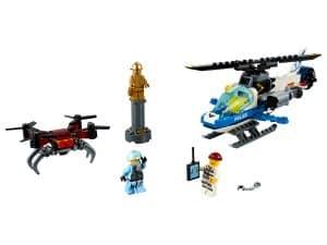 lego luchtpolitie drone achtervolging 60207