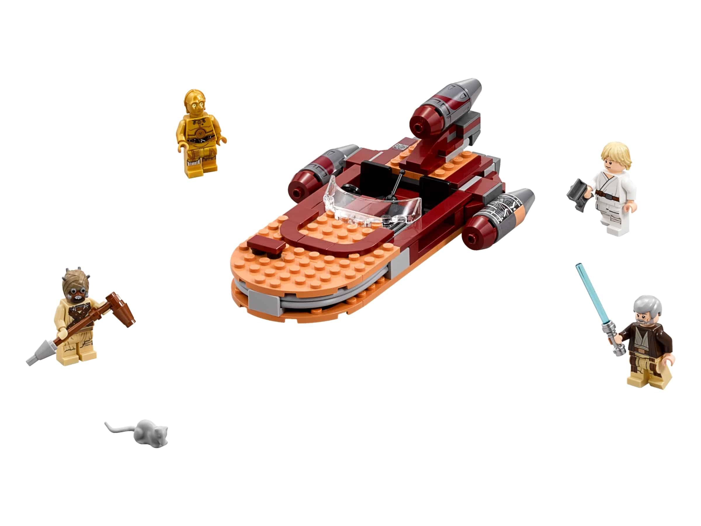 lego lukes landspeeder 75173