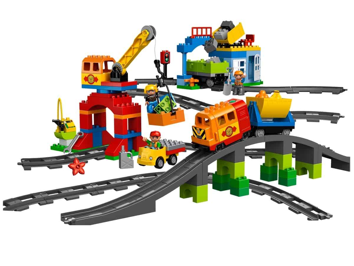 lego luxe treinset 10508