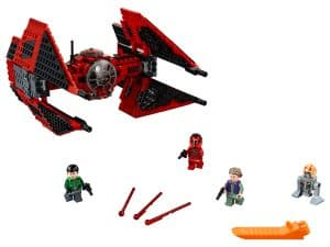 lego major vonregs tie fighter 75240