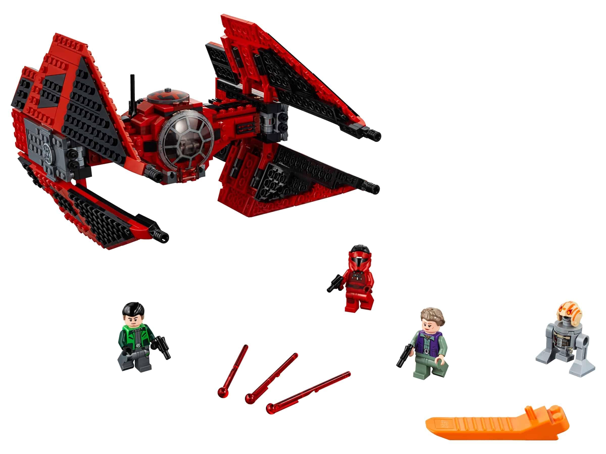 lego major vonregs tie fighter 75240
