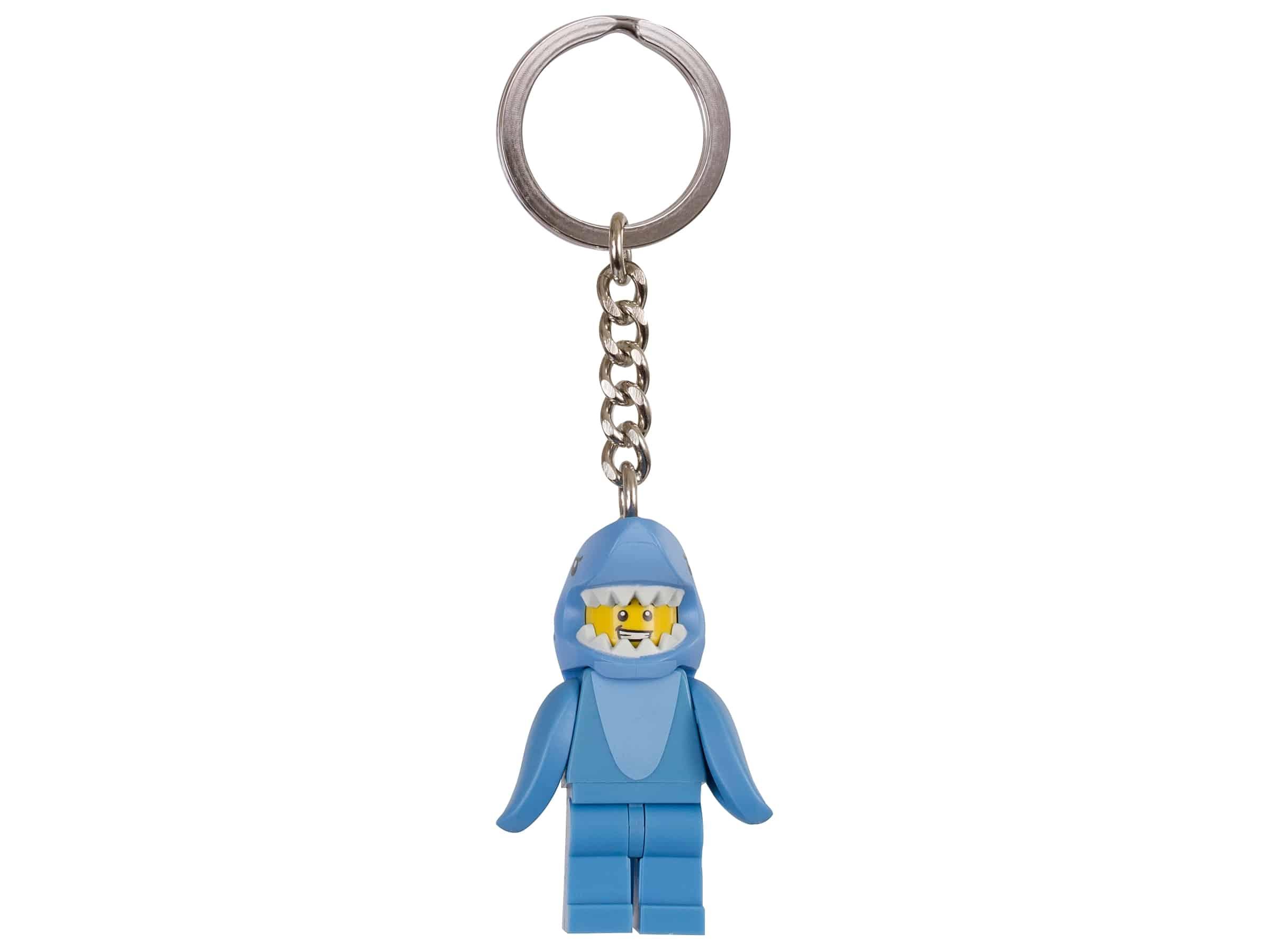 lego man in haaienpak sleutelhanger 853666
