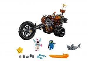 lego metaalbaards heavy metal trike 70834