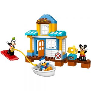 lego mickey friends strandhuis 10827