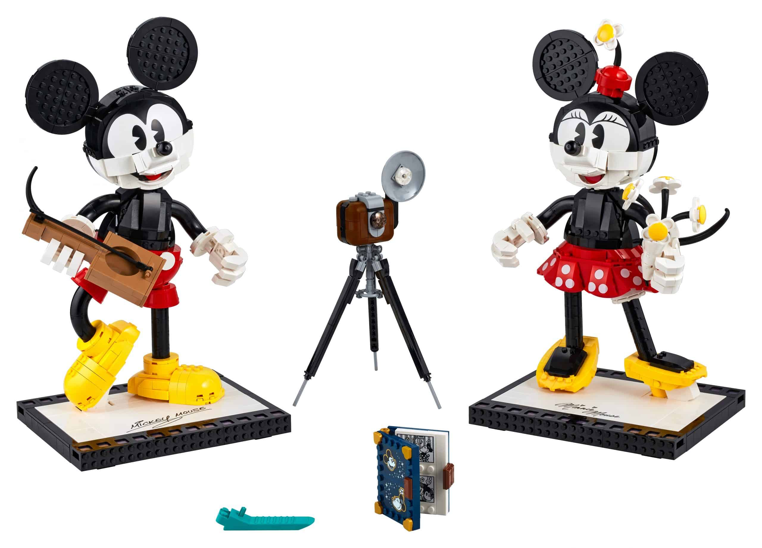 lego mickey mouse minnie mouse personages om zelf te bouwen 43179 scaled