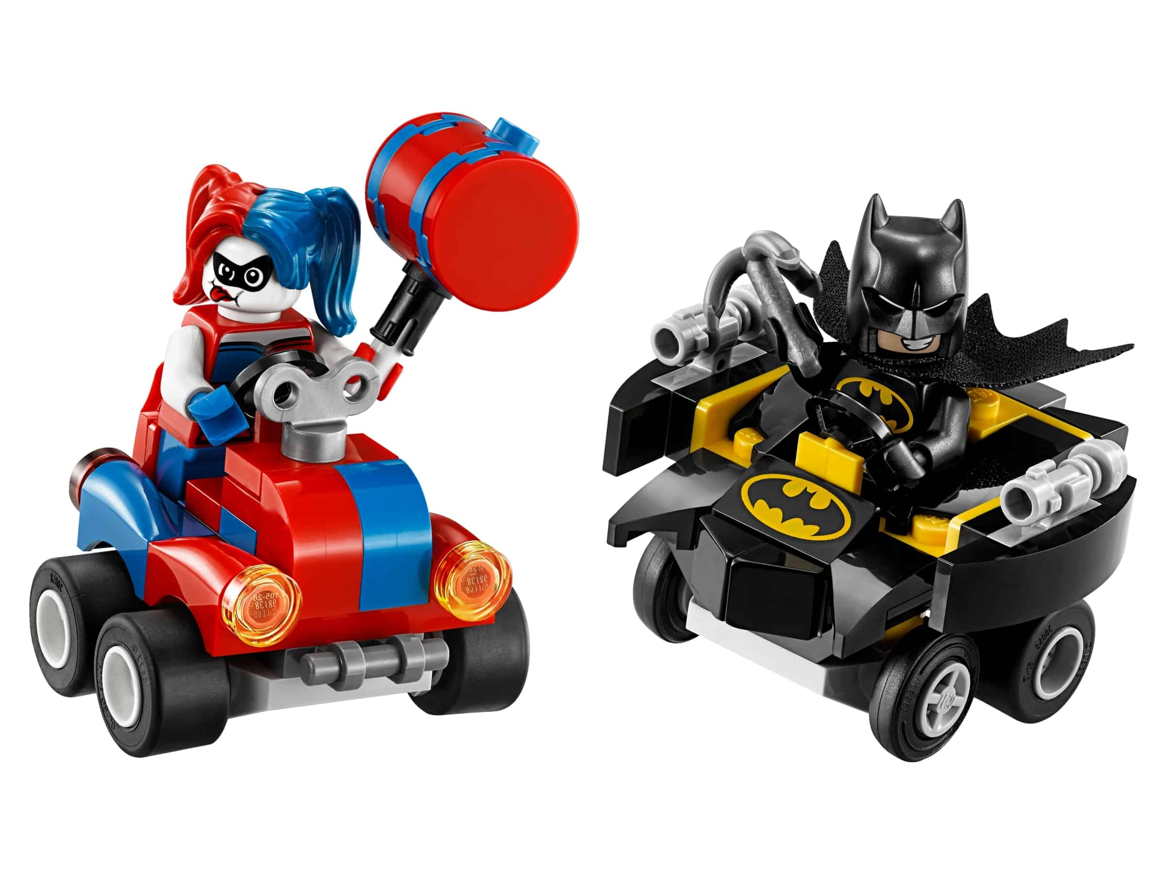 lego mighty micros batman vs harley quinn 76092