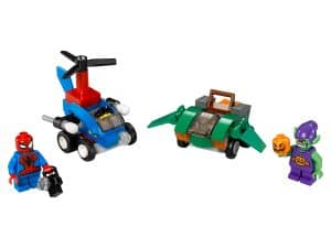 lego mighty micros spider man vs green goblin 76064