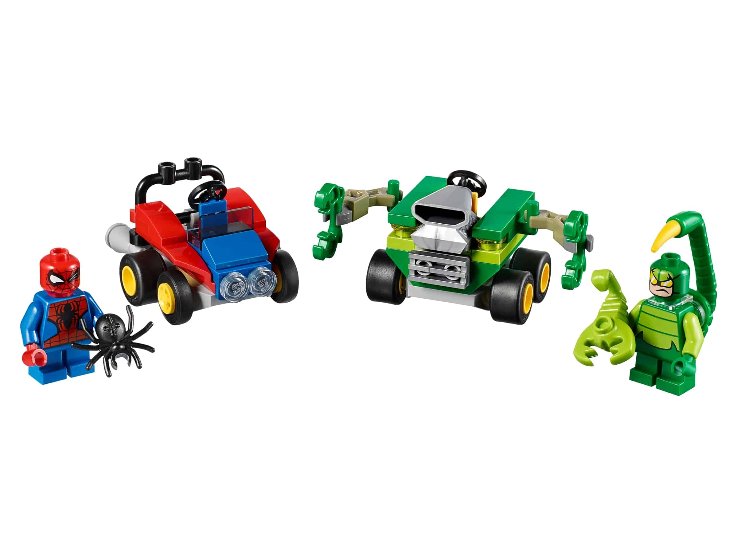 lego mighty micros spider man vs scorpion 76071