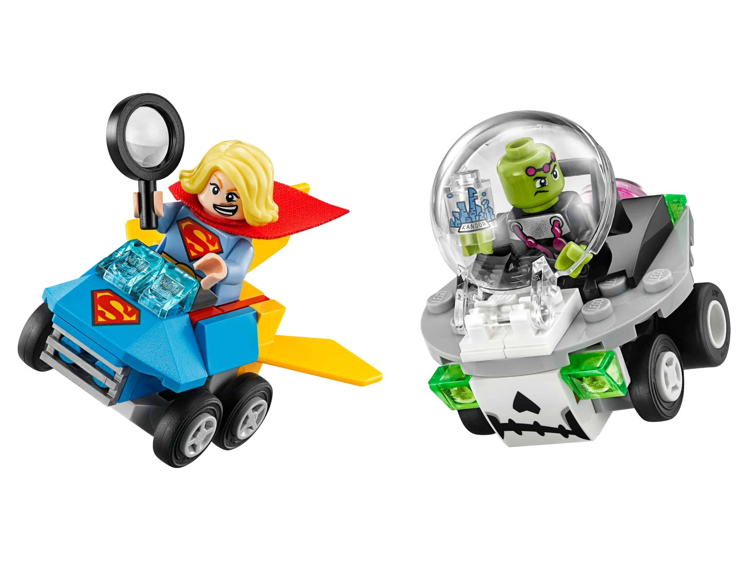 lego mighty micros supergirl vs brainiac 76094