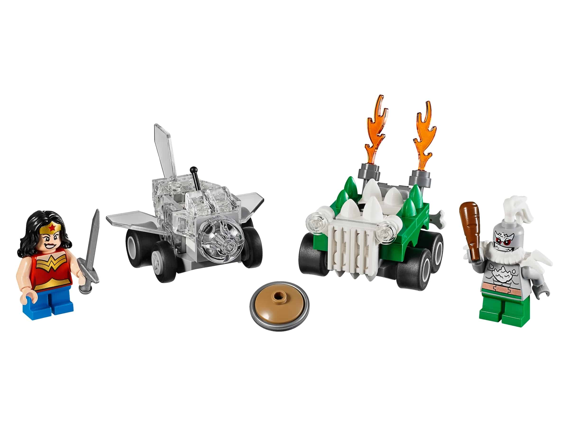 lego mighty micros wonder woman vs doomsday 76070