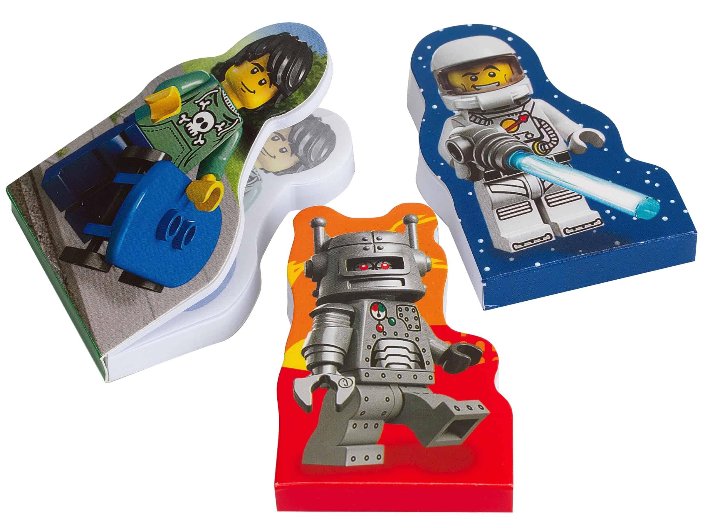 lego minifigure notitieblokken 851320