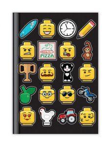 lego minifiguurnotitieboekje 5005900