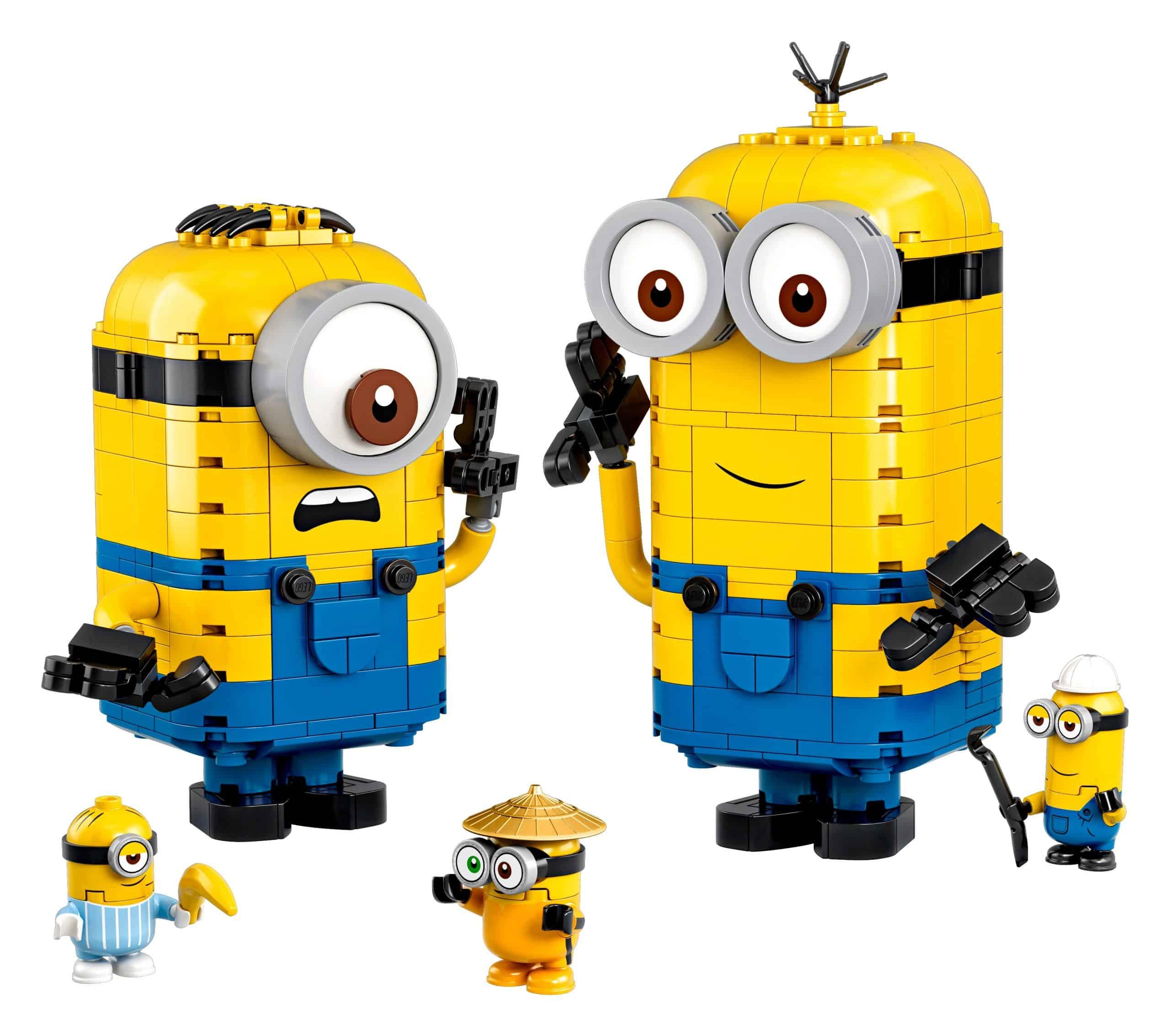 lego minions figuren van stenen en hun schuilplaats 75551 scaled
