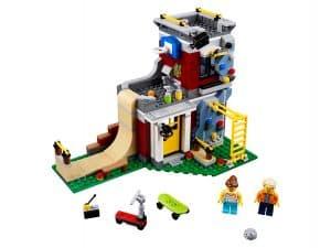 lego modulair skatehuis 31081