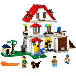lego modulaire familievilla 31069