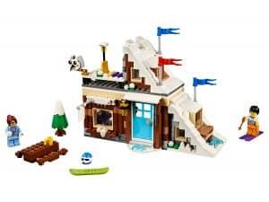 lego modulaire wintervakantie 31080