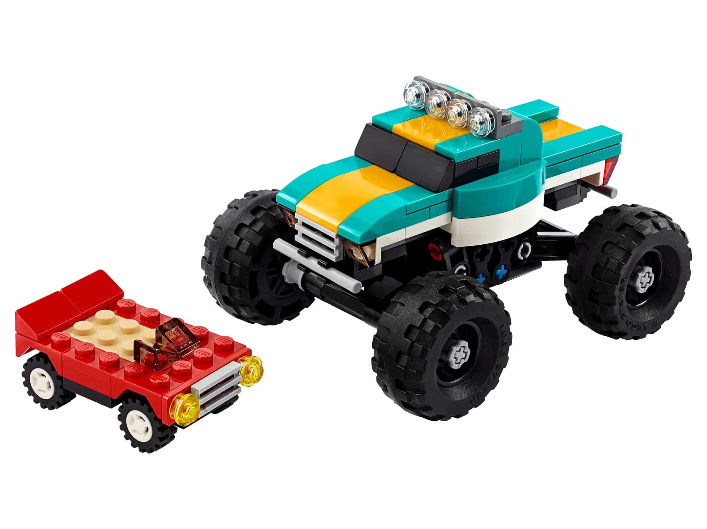 lego monstertruck 31101