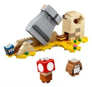 lego monty mole super mushroom uitbreidingsset 40414