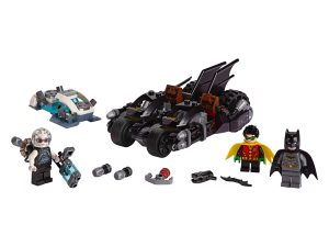 lego mr freeze het batcycle gevecht 76118