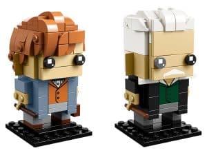 lego newt scamander gellert grindelwald 41631