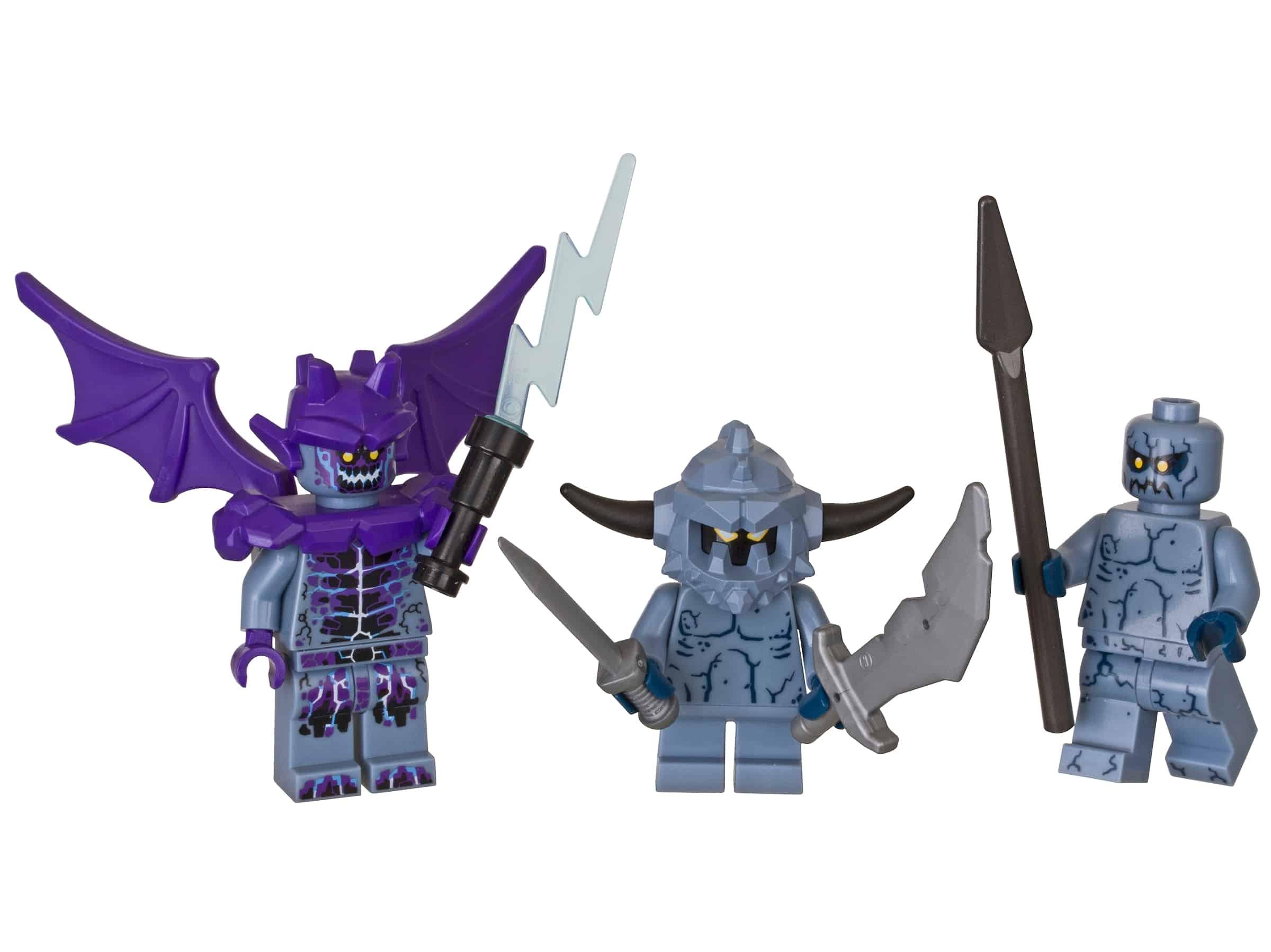 lego nexo knights stone monsters accessoireset 853677