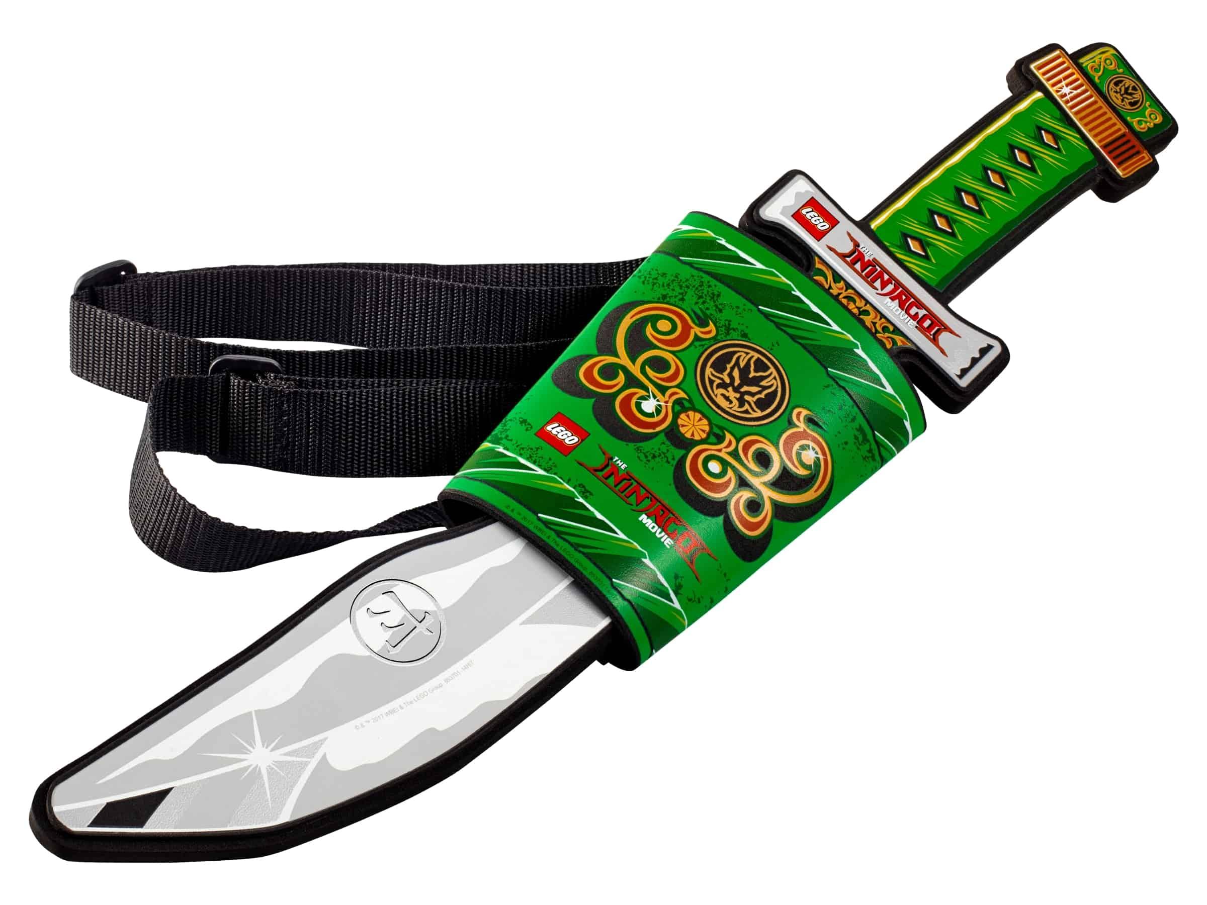 lego ninjago film zwaard met zwaardschede 853701