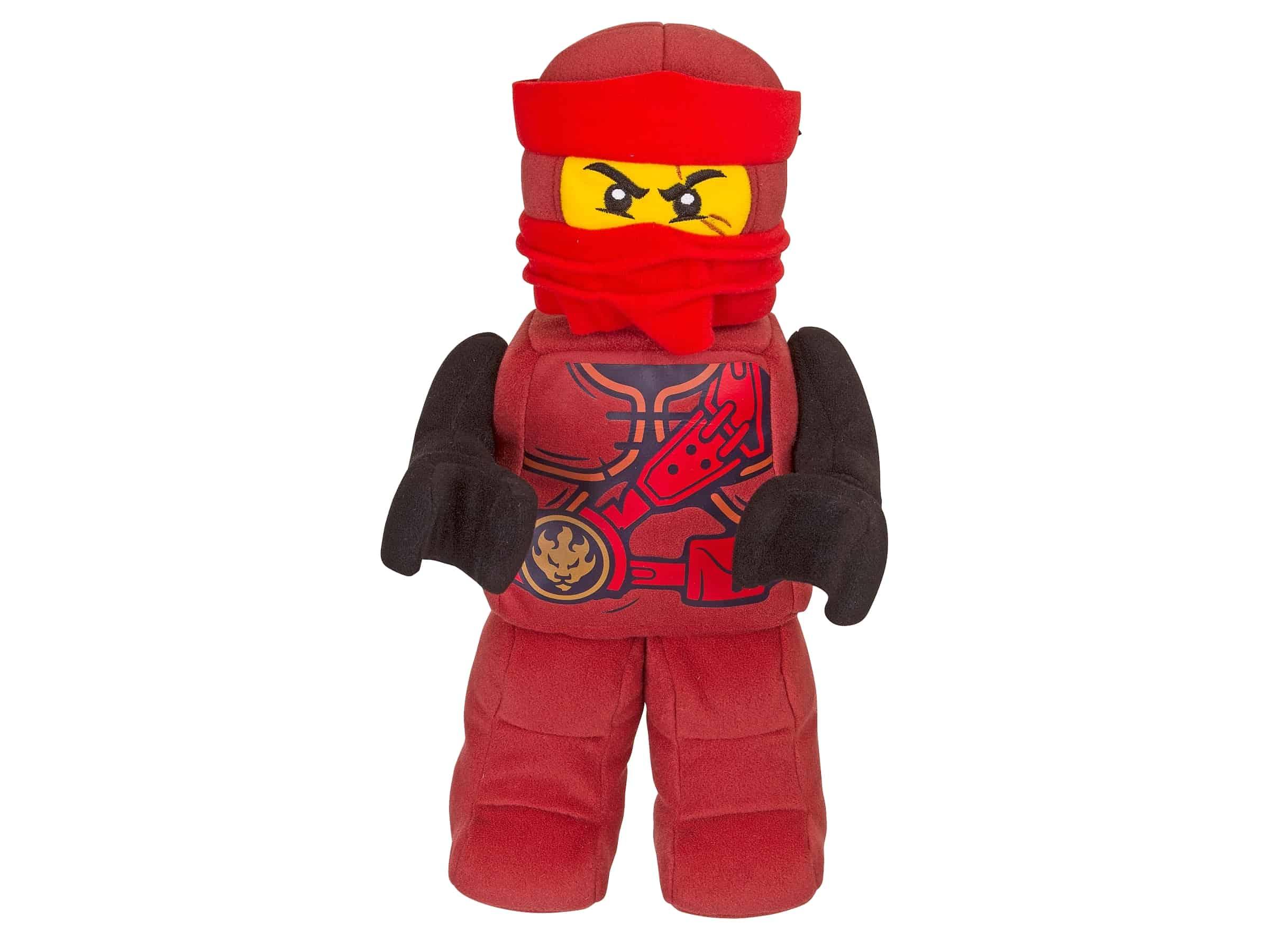 lego ninjago kai figuur van zachte stof 853691