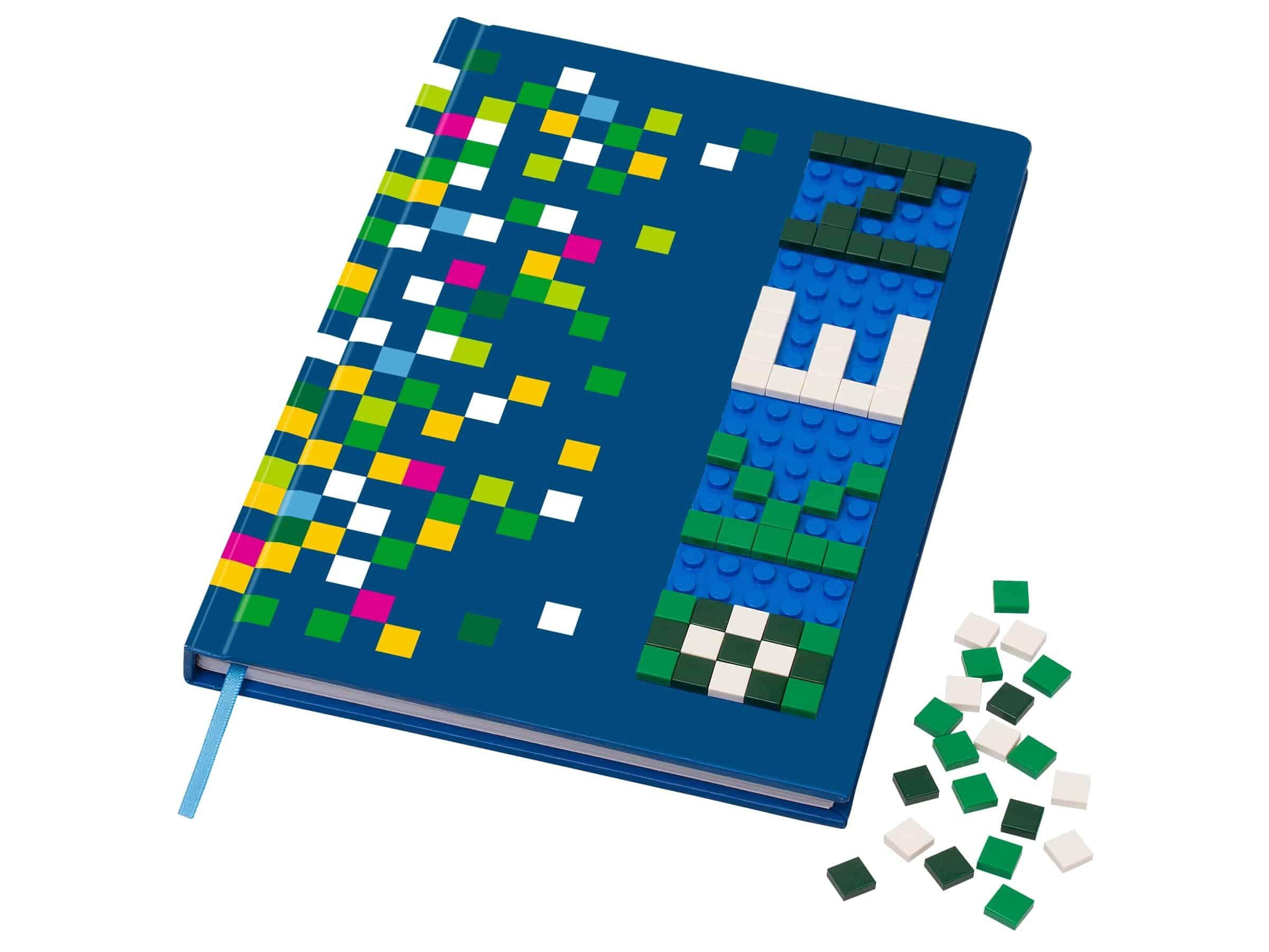 lego notitieboekje met noppen 853569