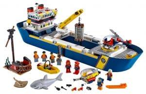 lego oceaan onderzoekschip 60266