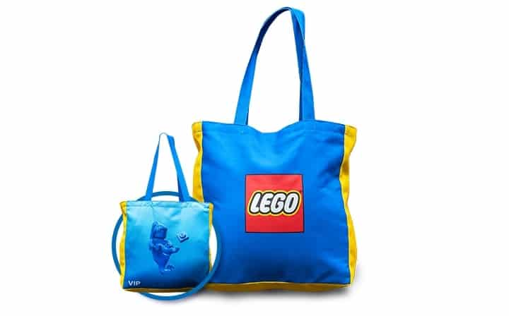 lego omkeerbare linnen vip tas 5005910