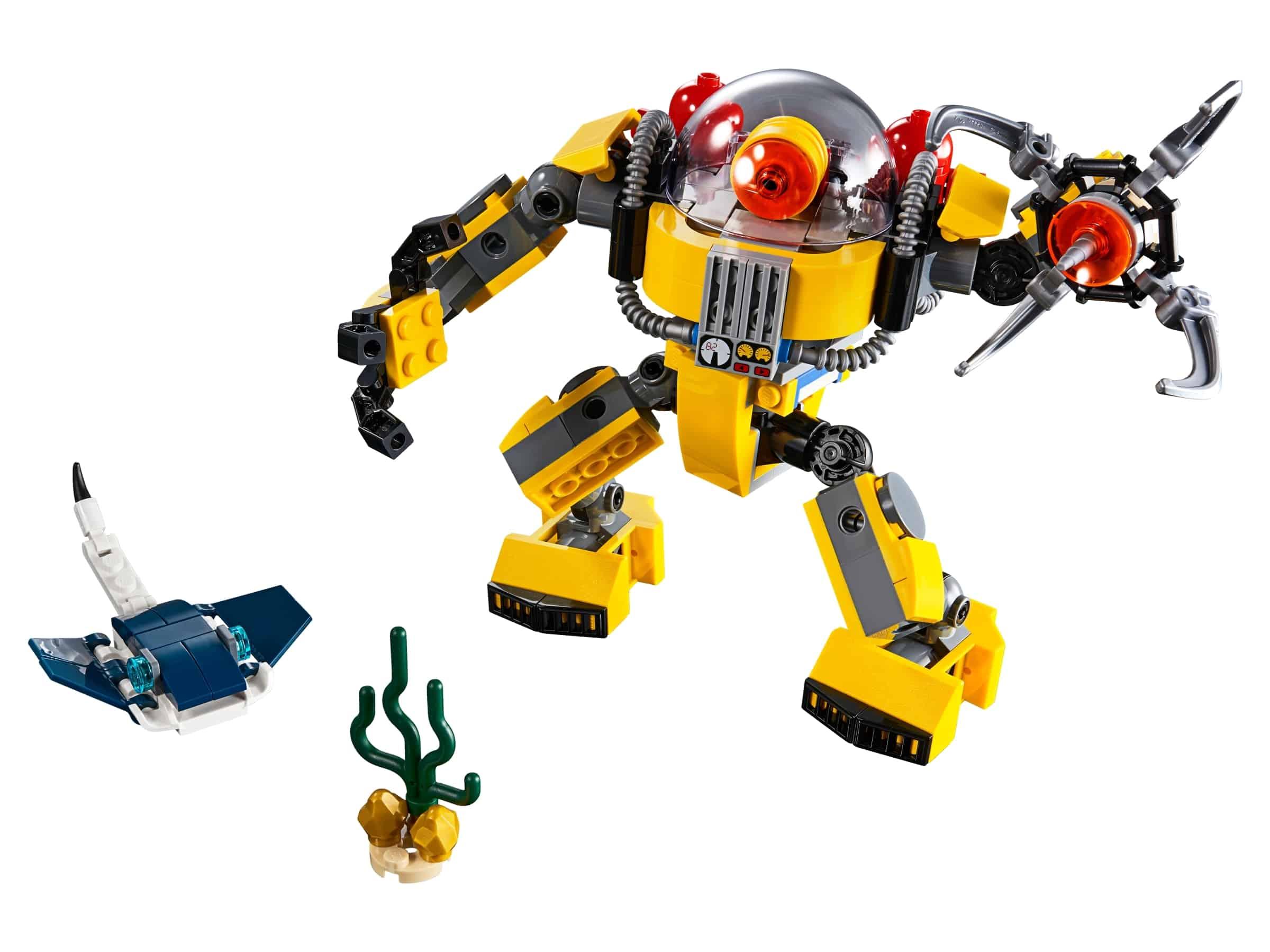 lego onderwaterrobot 31090