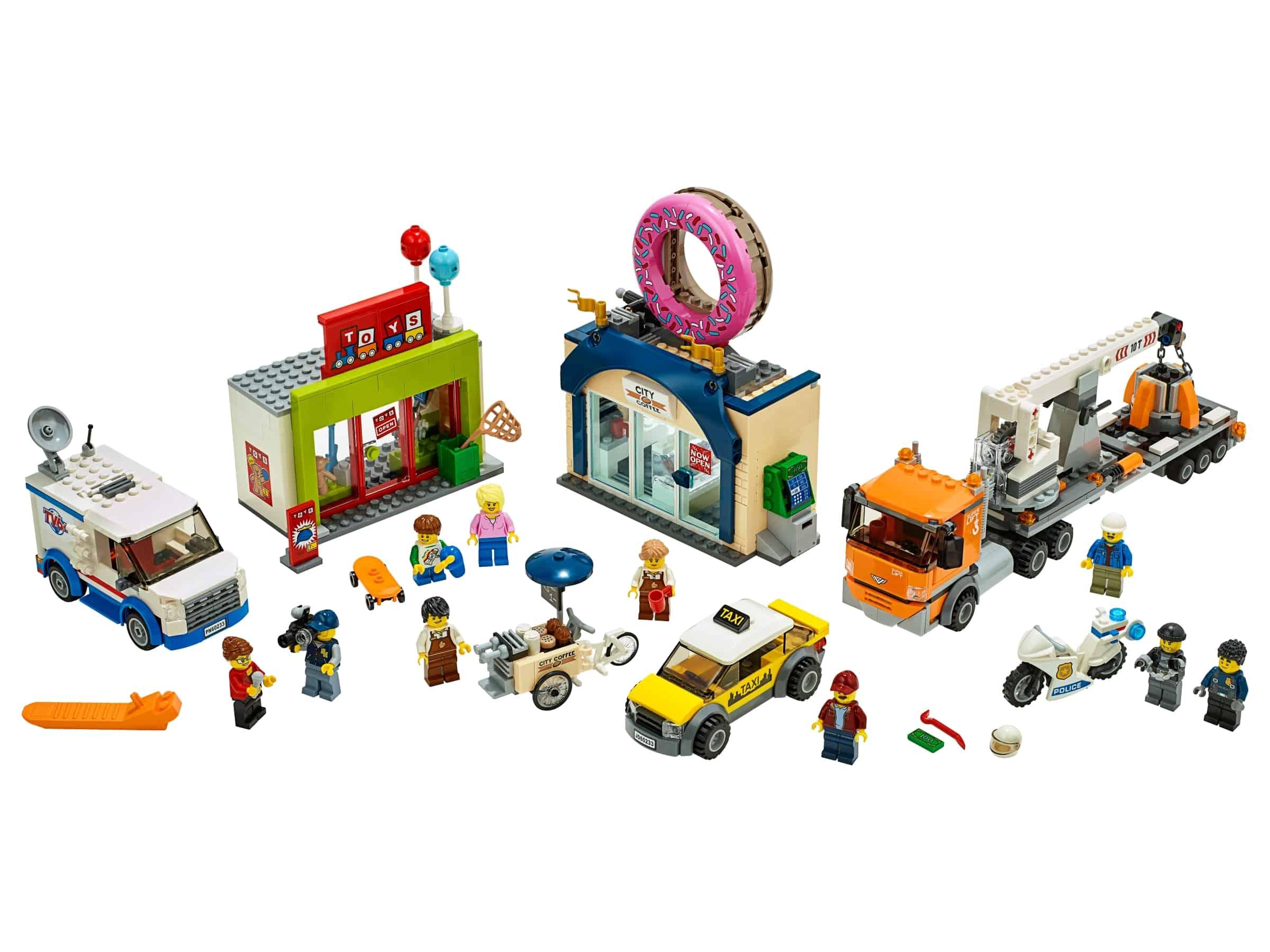 lego opening donutwinkel 60233